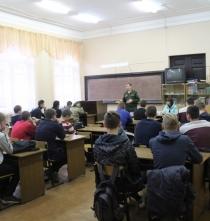 Встреча с военным комиссаром г. Кашина, Кашинского, Калязинского и Кесовогорского района Семеновым А.А.