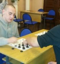 Участие в районных соревнованиях по шашкам