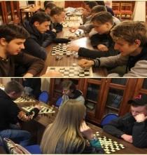 Турнир по шашкам.