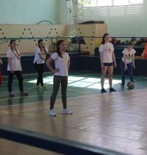 Областные соревнования по волейболу (девушки)