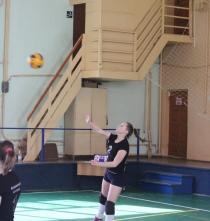 Зональные полуфинальные игры волейбол (девушки)