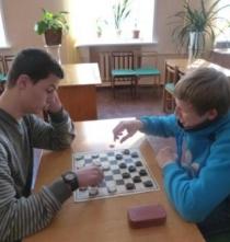 Районные соревнования по шашкам среди студентов