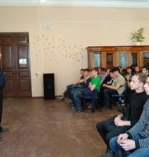 Встреча с лейтенантом полиции Соколенко В.О.