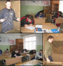 Конкурс профессионального мастерства по профессии «Штукатур»
